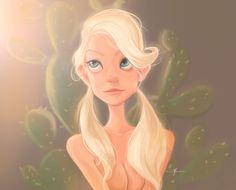 Girl, cennet kapkac on ArtStation at https://www.artstation.com/artwork/rJ0eO
