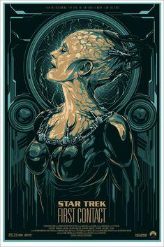 """Star Trek: First Contact"" by Ken Taylor, via @Mondo"
