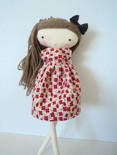 isabella rag doll cloth doll made to order by lassandaliasdeana