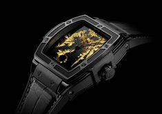 Hublot - Spirit of Big Bang Gold Crystal | Time and Watches | The watch blog Watch Blog, Watch News, Big Bang, Latest Watches, Mens Gear, Hand Watch, Porsche Design, Classic Man, High Jewelry