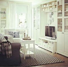 Living Room   Ikea Everything: Banc TV, Besta, Billy, Hemnes, Liatorp.