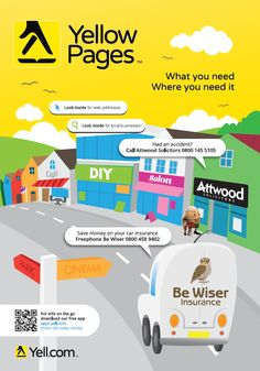 Yellow Pages UK by Phone Book of the Worldcom