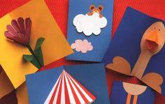 Dezenas de moldes de cartões artesanais pra você fazer e vender em diversas…