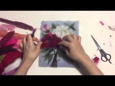 программа Hand Made от 24.05.2016 (Картины из шерсти) - YouTube