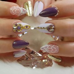 """4,008 Likes, 11 Comments - Ugly Duckling Nails Inc. (@uglyducklingnails) on Instagram: """"Beautiful nails by @sabrina_ils can't wait to see you next week ✨Ugly Duckling Nails page is…"""""""
