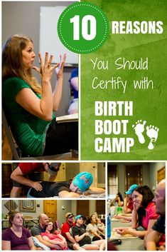 Top 10 Reasons To Certify With Birth Boot Camp- wondering who to certify with to become a childbirth educator? Here are some things to look for.