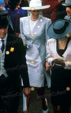 Royal Ascot Princess Diana Photo By:dave Chancellor-alpha-Globe Photos, Inc 1988