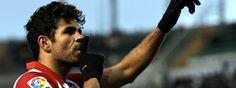 La Liga más apretada del último lustro. Diego Costa celebra su gol al Elche Manuel Queimadelos Alonso - Getty