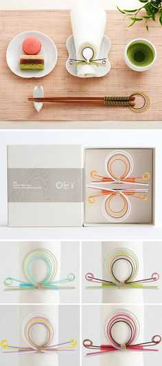 mizuhiki tableware from oey