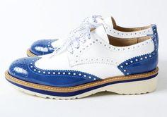 【楽天市場】Pertini(ペルティニ) パテントコンビ ウイングチップ シューズ ラバーソール ホワイト×ブルー:NAKAGAWA1948 楽天市場店