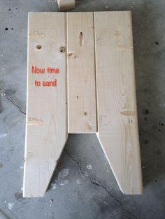 DIY Farmhouse Bench - Step 1d