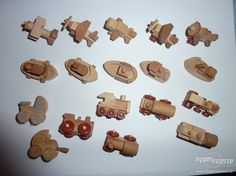 Kinder Surprise - wooden toys ( wood toys )