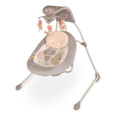 InGenuity Piper InLighten Fashion Cradling Swing, Multicolor