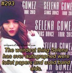 Selena gomez fact