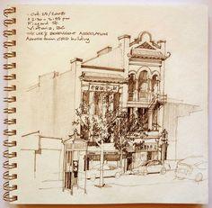 Chinatown sketch | Flickr - Photo Sharing!