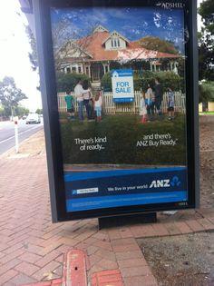 ANZ Bank Ad (my image)