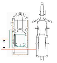 Adjusting a Motorcycle Sidecar