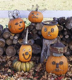 Junk-o'-Lanterns -- planning on doing this project this fall
