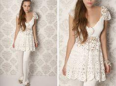 Check out the shoulder! -vl agostina+bianchi+2012+babydoll+dress.jpg (1024×760)
