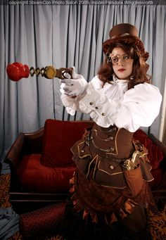 `.Steampunk Inventor Outfit 2 by ~DovSherman on deviantART.