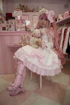 lolita | country lolita este es un subgenero de la sweet lolita solo que estas ...