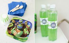 Great ideas to throw the ultimate Teenage Mutant Ninja Turtles Party!