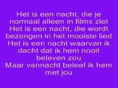 Guus Meeuwis-Het is een nacht (Lyrics).wmv