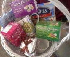 Tea Time N a Basket