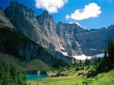Glacier National Park in Montana |