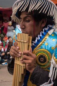 foto de Ronald Alex Espinoza Marón que representa a: Musico de la Danza Cullawa