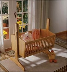 Pendulum Cradle Woodworking Plan from WOOD Magazine