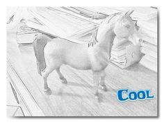 Disegno cavallo:-)