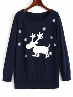 Up to 68% OFF! Elk Christmas Snowflakes Sweatshirt. #Zaful#zafulsweater #zafuloutfits #fashion #style #tops #outfits #blouses #sweatshirts #hoodies #cardigan #sweater#cutesweatshirts #floralhoodie #croppedhoodies #pearlsweatshirt #fall #winter #winteroutfits #winterfashion #fallfashion #falloutfits #christmas #ugly #uglychristmas #thanksgiving #gift #christmashoodies #blackfriday #cybermonday @zaful Extra 10% OFF Code:ZF2017