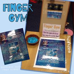 Finger Gym - leave a trail of gems as you escape the maze.