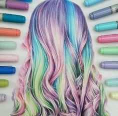 New how to paint realistic hair colored pencils 33 ideas Amazing Drawings, Cool Art Drawings, Pencil Art Drawings, Beautiful Drawings, Colorful Drawings, Art Drawings Sketches, Amazing Art, Hair Drawings, Drawing Hair
