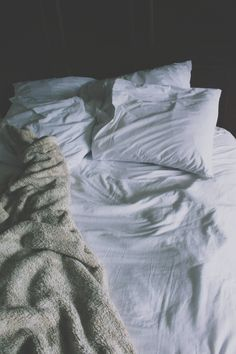""" The whole years I've known you, your bed has never been made."" "" A messy bed is a messy mind"""