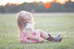 Madison & Huntsville Child Photographer. Melanie Kolowski Photography. Little girl. 2 Year Old. Toddler. Photo Session. Flower. Boots. Golden Hour. Photo Shoot.Braid. Pose. Ideas.