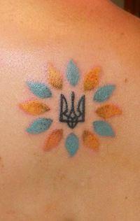 герб украины тату - Google Search