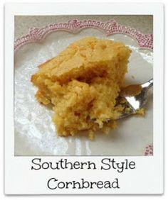 Easy Southern Style Cornbread Recipe