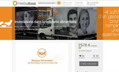 Financements participatifs, portail numérique: la Banque Alimentaire Bordeaux Gironde à l'heure du Web 2.0