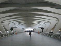 Stadelhofen Station, Zurich, Switzerland  calatrava