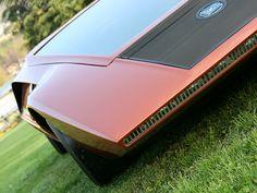 1970 Lancia Stratos Zero Concept by Bertone Ford Focus, Ford Mustang, Peugeot, Stratus, Volkswagen, Porsche, Derby Cars, Futuristic Cars, Love Car