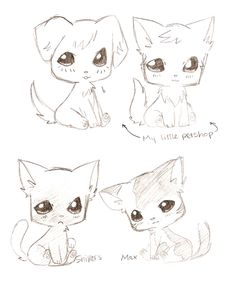 Chibi Animals From Little Petshop Angelfox 5