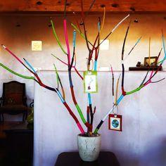 Yarn Christmas Trees