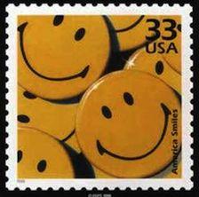 Did you smile today? http://d-b-z.de/web/2013/10/04/smiley-briefmarke-stamp/