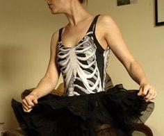 new possibility for La Calavera...skeleton ballerina?