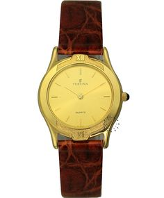 FESTINA Gold Ladies Brown Leather Strap Τιμή: 149€ Τιμή Προσφοράς: 29€ http://www.oroloi.gr/product_info.php?products_id=33863