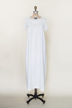 Antique Edwardian nightgown from Dalena Vintage