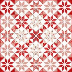FREE Christmas quilt pattern using Makower's Christmas 2016 Scandi The latest Scandi collection from Henley Studio. Traditional Nordic designs with coordinating Scandi basics, with a Linen Texture back ground. Patchwork Patterns, Patchwork Quilting, Quilt Block Patterns, Quilt Blocks, Pdf Patterns, Free Pattern, Quilting Projects, Quilting Designs, Scandinavian Quilts