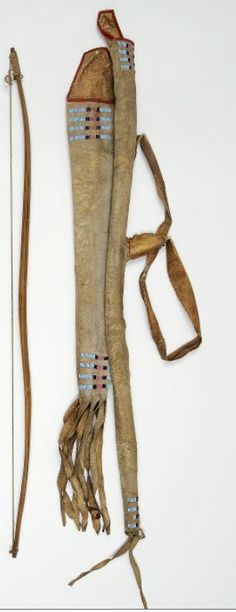 Sioux bowcase-quiver. BBHC ac